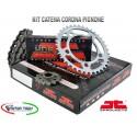 TRASMISSIONE JT CATENA CORONA PIGNONE HONDA CBF 1000 F/FA 06/10 COD.JTK003600