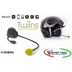 INTERFONO BLUETOOTH TWIINS D1 VA SINGOLO UNIVERSALE