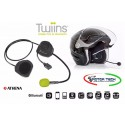 INTERFONO BLUETOOTH TWIINS D3 SINGOLO UNIVERSALE MOTO SCOOTER