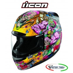 CASCO HELMETS INTEGRALE ICON AIRMADA MONKEY RUDOS