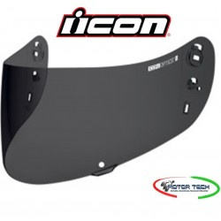 VISIERA CASCO ICON AIRMADA DARK SMOKE CON SISTEMA DI BLOCCAGGIO PROLOCK