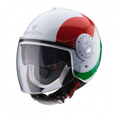 NEW CASCO DEMI-JET CABERG RIVIERA V3 SWAY ITALIA