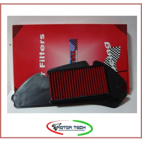 FILTRO ARIA RACING ONE LEVEL HONDA SH 125 150 ANNO 2001 2008