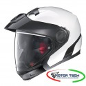CASCO NOLAN N40 FULL SPECIAL PLUS N-COM PURE WHITE (33) JET CROSSOVER