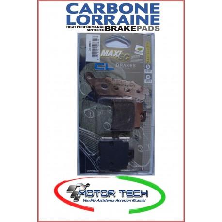 PASTIGLIE FRENO CARBONE LORRAINE SINT. KYMCO GRAN DINK 250 01- ANT. COD.3070 MSC