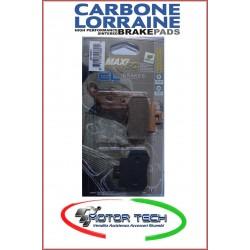 PASTIGLIE FRENO CARBONE LORRAINE SINT. KYMCO GRAN DINK 250 01- POS. COD.3071 MSC