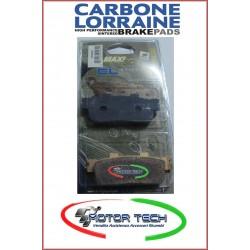 PASTIGLIE FRENO CARBONE LORRAINE SINT.KYMCO PEOPLE GTI 125/200/300 COD.3092MSC
