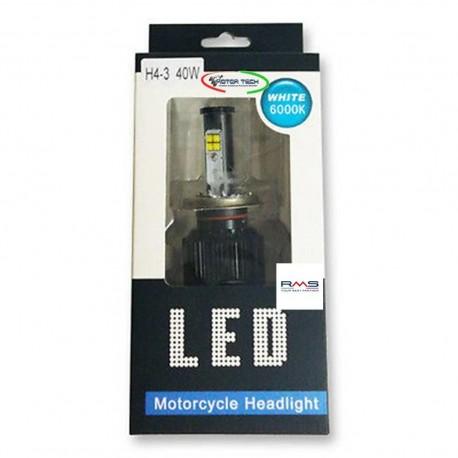LAMPADA LED H4 BILUCE 40W RMS PER MOTO E SCOOTER COD. 246510685