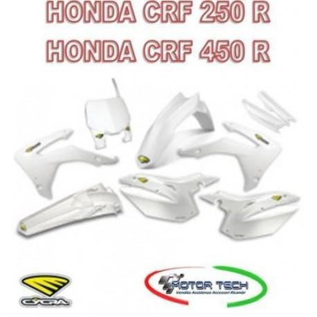 KIT CARENE CROSS WHITE HONDA CRF 250 R CRF 450 R CYCRA 13/17 1403-1078