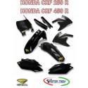 KIT CARENE CROSS BLACK NERO HONDA CRF 250 R CRF 450 R CICRA 09/13 1403-1076
