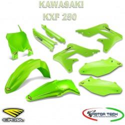 KIT CARENE CROSS GREEN VERDE KAWASAKI KXF 250 13-16 CYCRA 1403-1090