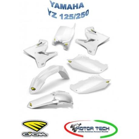 KIT CARENE CROSS WHITE BIANCO YAMAHA YZ 125/250 ANNO 05-14 CYCRA 1403-1637
